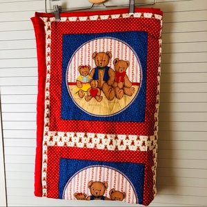 NWT Pottery & Barns Quilted Nursery Crib Comforter